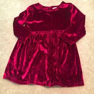 Beautiful Velvet Dress 2T